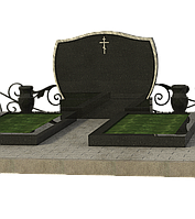 Памятник на кладбище на двоих П2М-6