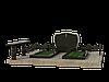 Комплекс могильный из гранита на 2 могилы МКГ47