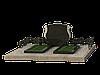 Комплекс гранитный на 2 могилы МКГ48