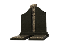 Двойные памятники на могилу из гранита П2М-11