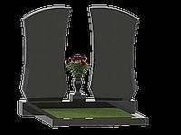 Двойные памятники из гранита П2М-15