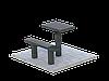 Стол и скамья из гранита №1
