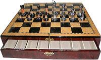 Шахматы ARMS D-27969217, Корпус: Дерево, Покрытие: Глянцевый лак, Высота фигур: От 5 до 9 см