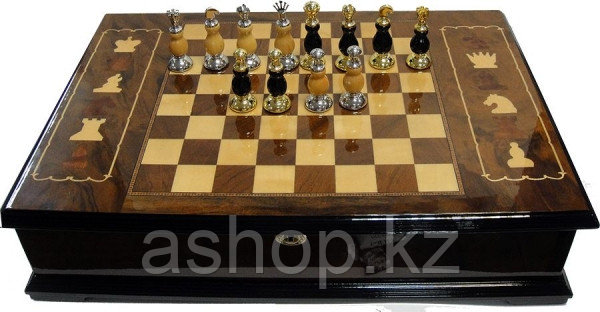Шахматы Winstin LP-0067, Корпус: Дерево, Покрытие: Глянцевый лак, Высота фигур: От 6 до 7,5 см