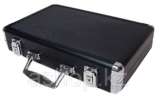 Набор для покера 200 фишек ARMS D-2267, Корпус: Пластик, алюминий, Кубиков: 2 шт., Фишек: Белых 50 шт., красны