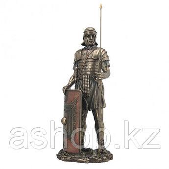 Статуэтка Wise Unicorn Римский воин, Высота: 360 мм, Материал: Полистоун, Цвет: Бронзовый, (WU76048A)