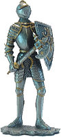 Статуэтка оловянный солдатик Wise Unicorn Рыцарь с топором, Высота: 105 мм, Материал: Оловянный сплав, (AT0853