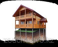 Винтовые сваи d 108 мм для свайно-винтовых фундаментов зданий, домов, бань, трубопроводов, опор ЛЭП, пирсов.