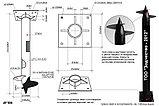 Винтовые сваи d 108 мм для свайно-винтовых фундаментов зданий, домов, бань, трубопроводов, опор ЛЭП, пирсов., фото 9