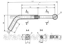 Зажим натяжной ТРАС: ТРАС-700-1, ТРАС1200-1А