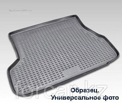 Коврик в багажник NISSAN Terrano, 2014->, 2WD, 1шт. (полиуретан)