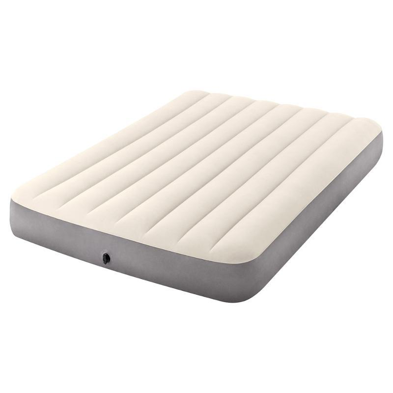 Кровать надувная полуторка INTEX FULL DELUXE SINGLE-HIGH AIRBED 64102, 191x137x25см