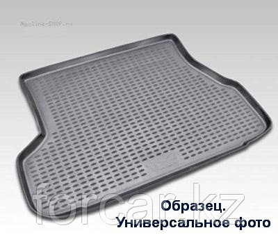 Коврик в багажник NISSAN Pathfinder, 2014-> длин. 1 шт. (полиуретан)