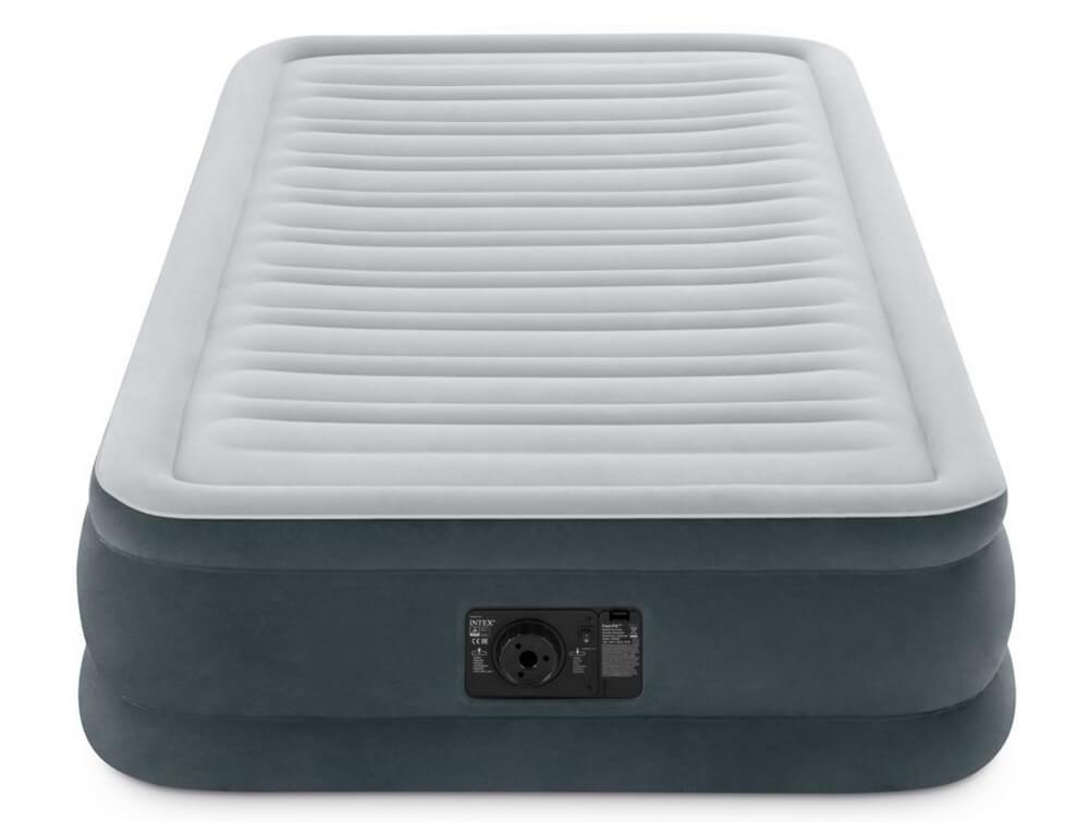 Односпальная надувная кровать со встроенным насосом, Intex 67766 99х191х33