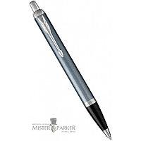 Ручка шариковая IM BL GREY CT BP M BLU GB Parker