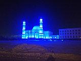 Архитектурное освещение мечети г Астана ''Белая Мечеть'', фото 4