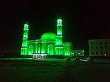Архитектурное освещение мечети г Астана ''Белая Мечеть'', фото 2