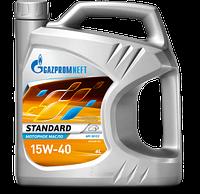 Моторное масло Газпром (GAZPROMNEFT) Standart  15W40 4литра, фото 1