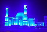 Архитектурное освещение мечети г Астана ''Белая Мечеть'', фото 3