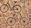 "Бумага упаковочная крафт ""Монобайки"" 0,7 х 10 м, фото 2"