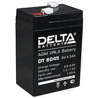 Аккумулятор для детского электромобиля, мотоцикла 6 вольт 4,5 а/час (6V4,5Ah)