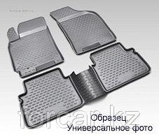 Коврики 3D в салон NISSAN Almera , 2012->, 4 шт. (полиуретан)