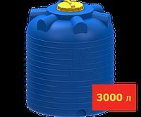 Емкость вертикальная 3000 л цилиндрическая