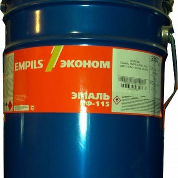 """Эмаль ПФ-115 """"Empils"""" желтая 20кг"""