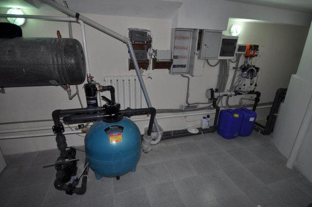 Песочный фильтр и автоматическая станция дозирования хим.реагентов