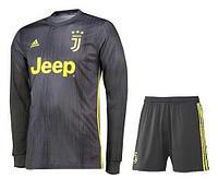 Juventus - детская футбольная форма с длинным рукавом