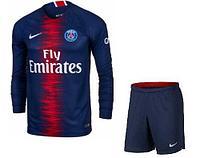 Paris Saint-Germain F.C. - детская футбольная форма с длинным рукавом