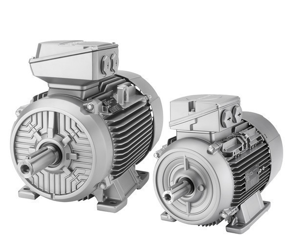 Электродвигатель SIEMENS из алюминия класса IE1, 1LE1501-1EB43-4AA4-Z
