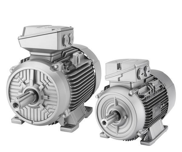 Электродвигатель SIEMENS из алюминия класса IE1, 1LE1501-2AB53-4AA4-Z