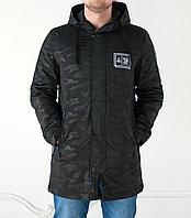 Куртка -парка мужская Shark Force демисезонная, черная