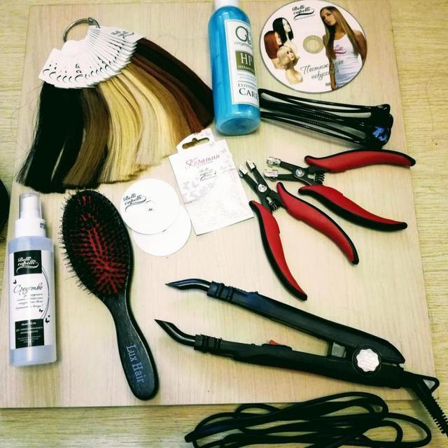 Парикмахерский отдел - Наращивание волос