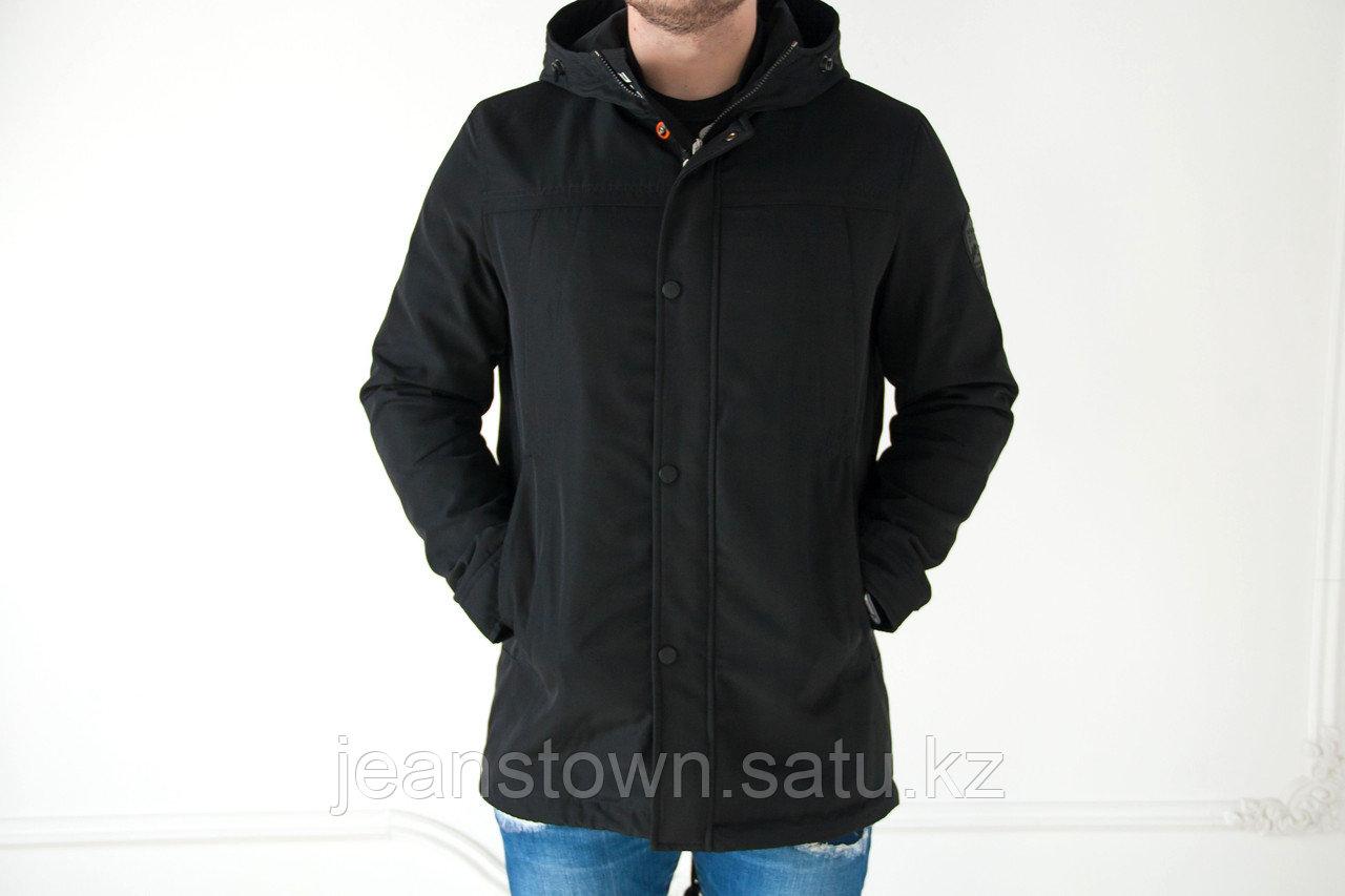 Куртка - парка мужская Vivacana  демисезонная  черная