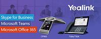 Компания Yealink сообщает о получении сертификата Microsoft для работы с сервисами Teams для моделей Yealink T56A, T58A и CP960