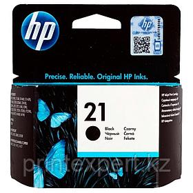 Заправка картриджа HP C9351AE Black Inkjet Print Cartridge № 21, 5ml