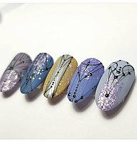 Паутинка для дизайна ногтей