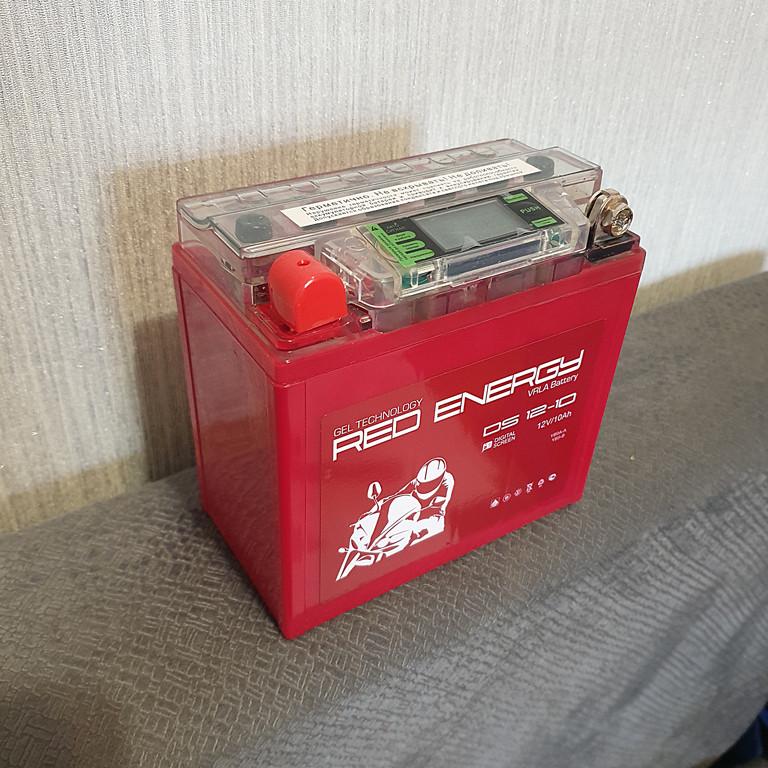 АККУМУЛЯТОР RED ENERGY DS 12-10 (137x77x135)