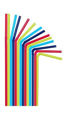 Трубочки цветные