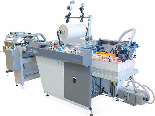 Высокопроизводительный автоматический ламинатор B2 - KOMFI Saggita 52