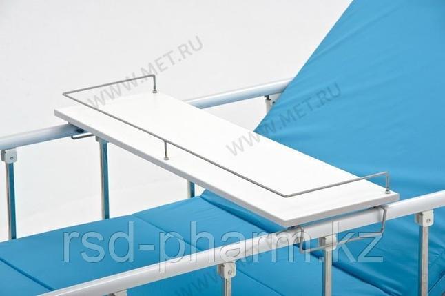 Столик надкроватный для лежачих больных, цвет - белый (ширина 850-1050 мм) к OMEGA-7, фото 2