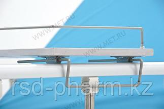 Столик надкроватный для лежачих больных, цвет - белый (ширина 850-1050 мм) к OMEGA-7, фото 3