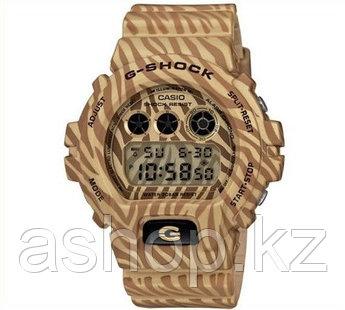 Часы электронные наручные мужские Casio G-SHOCK DW-6900ZB-9DR, Механизм: Кварц, Браслет: Ремешок из полимерног