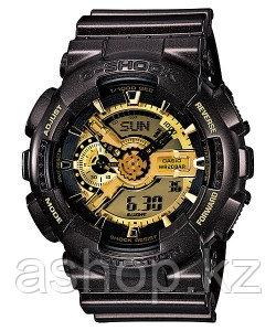 Часы электронные наручные мужские Casio G-SHOCK GA-110BR-5ADR, Механизм: Кварц, Браслет: Ремешок из полимерног