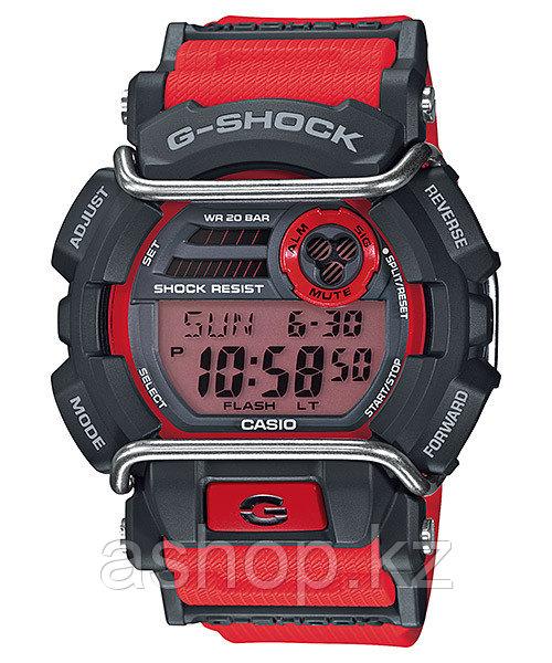 Часы электронные наручные мужские Casio G-SHOCK GD-400-4ER, Механизм: Кварц, Браслет: Ремешок из полимерного м