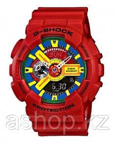 Часы электронные наручные мужские Casio G-SHOCK GA-110FC-1ADR, Механизм: Кварц, Браслет: Ремешок из полимерног