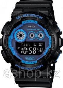 Часы электронные наручные мужские Casio G-SHOCK GD-120N-1B2DR, Механизм: Кварц, Браслет: Ремешок из полимерног
