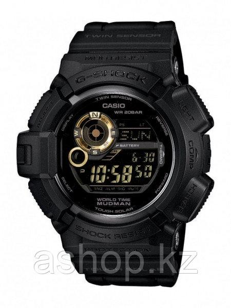 Часы электронные наручные мужские Casio G-SHOCK G-9300GB-1DR , Механизм: Кварц, Браслет: Ремешок из полимерног